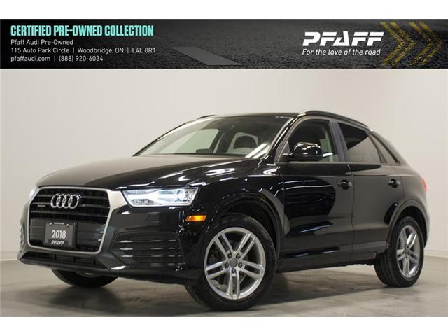 2018 Audi Q3 2.0T Komfort (Stk: C6033) in Vaughan - Image 1 of 15