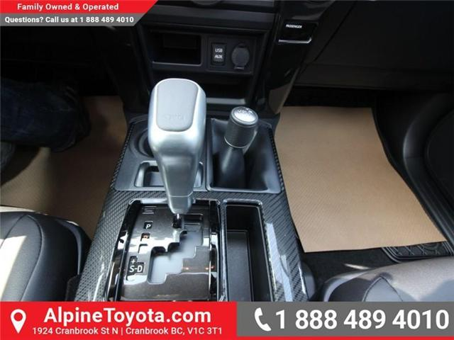 2018 Toyota 4Runner SR5 (Stk: 5589435) in Cranbrook - Image 15 of 21