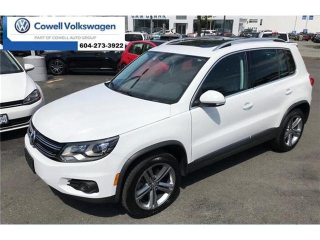 2017 Volkswagen Tiguan Highline (Stk: V1701266V) in Richmond - Image 1 of 14