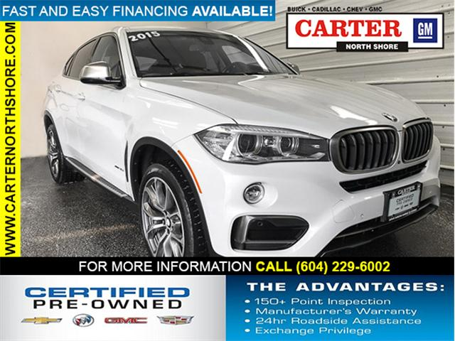 2015 BMW X6 xDrive35i (Stk: 970921) in Vancouver - Image 1 of 27