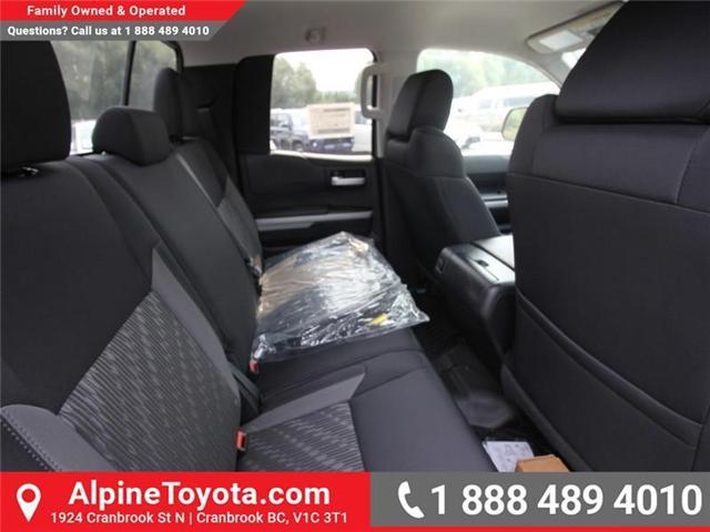 2018 Toyota Tundra SR5 Plus 5.7L V8 (Stk: X763229) in Cranbrook - Image 10 of 15