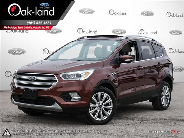2018 Ford Escape Titanium (Stk: A3051) in Oakville - Image 1 of 27