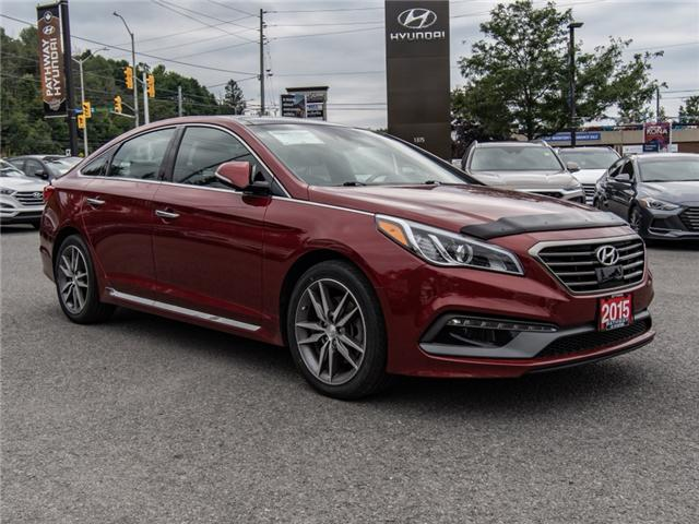 2015 Hyundai Sonata 2.0T Ultimate (Stk: R76749A) in Ottawa - Image 1 of 13
