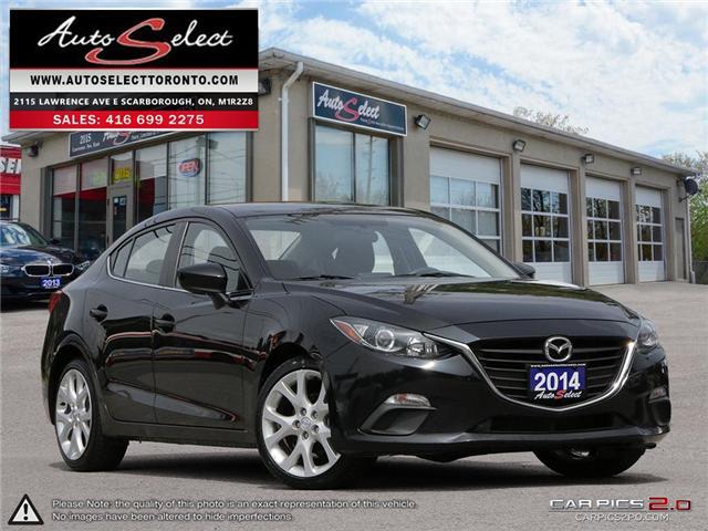 2014 Mazda Mazda3  (Stk: 14MQ3941) in Scarborough - Image 1 of 27