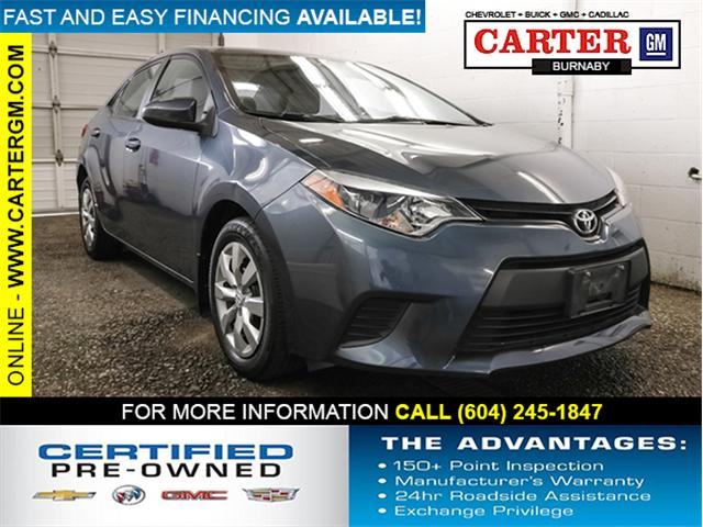 2014 Toyota Corolla LE (Stk: T4-35021) in Burnaby - Image 1 of 26