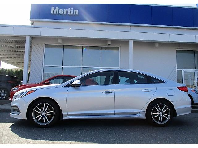 2016 Hyundai Sonata 2.0T Sport Ultimate (Stk: H89-4807A) in Chilliwack - Image 2 of 4