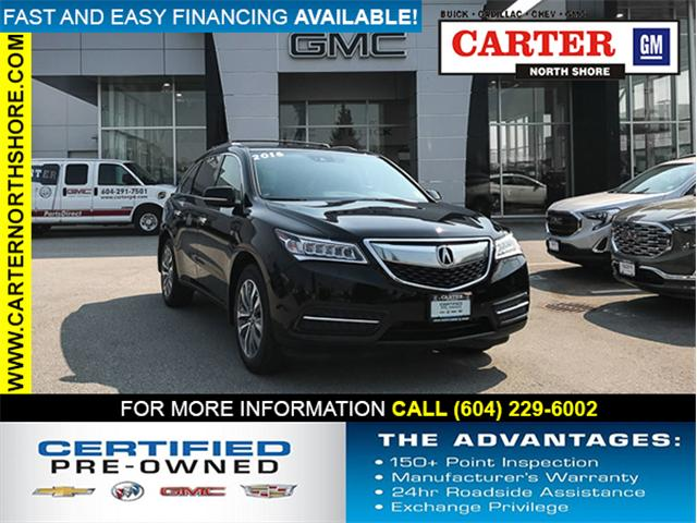 2016 Acura MDX Navigation Package (Stk: 8R56691) in Vancouver - Image 1 of 29