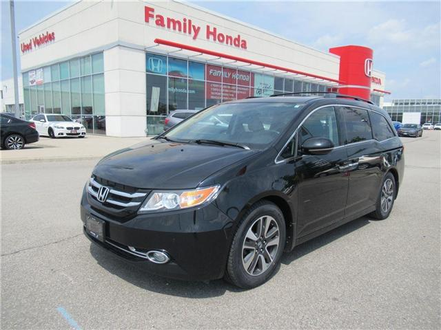 2016 Honda Odyssey Touring, FULLY LOADED WOW!! (Stk: 9503982A) in Brampton - Image 1 of 30