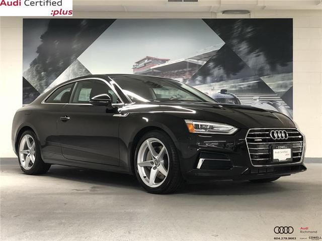 2018 Audi A5 2.0T Komfort (Stk: A2452A) in Richmond - Image 1 of 22