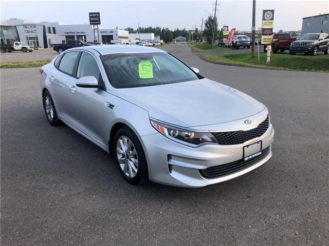 2018 Kia Optima LX+ (Stk: 3570D) in Thunder Bay - Image 1 of 16