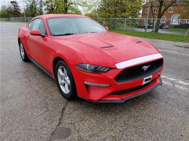 2019 Ford Mustang EcoBoost (Stk: 19MU0024) in Unionville - Image 1 of 13