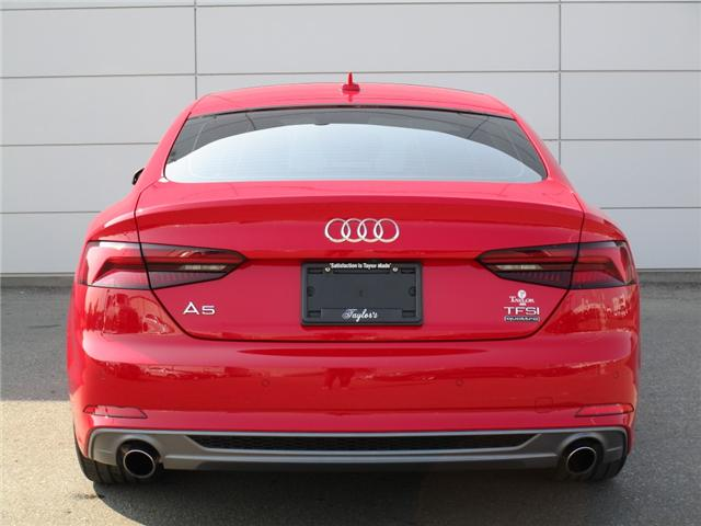 2018 Audi A5 2.0T Technik (Stk: 6399) in Regina - Image 9 of 34