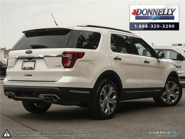 2018 Ford Explorer Platinum (Stk: DR595) in Ottawa - Image 4 of 27