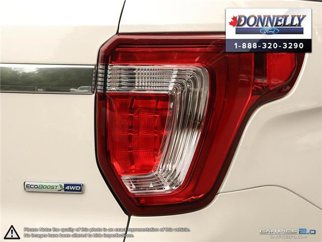 2018 Ford Explorer Platinum (Stk: DR595) in Ottawa - Image 12 of 27