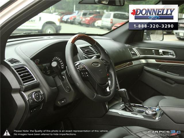 2018 Ford Explorer Platinum (Stk: DR595) in Ottawa - Image 13 of 27