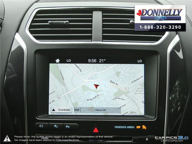 2018 Ford Explorer Platinum (Stk: DR595) in Ottawa - Image 21 of 27