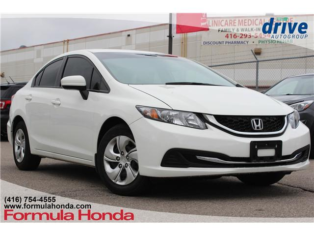 2015 Honda Civic LX (Stk: 18-1850A) in Scarborough - Image 1 of 25