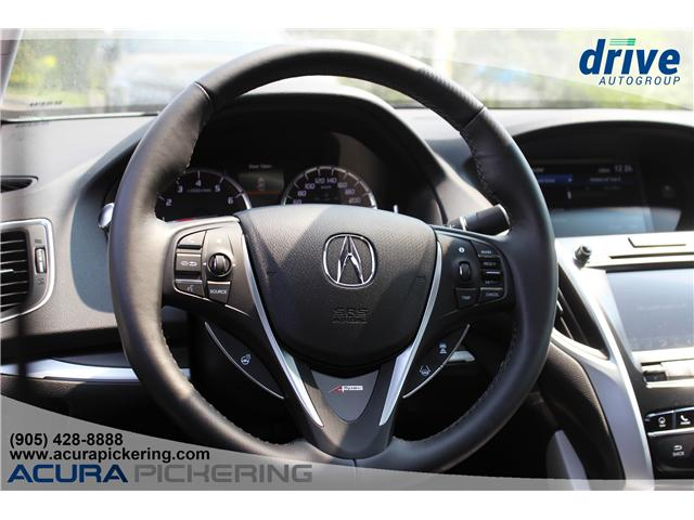 2019 Acura TLX Tech A-Spec (Stk: AT007) in Pickering - Image 12 of 36
