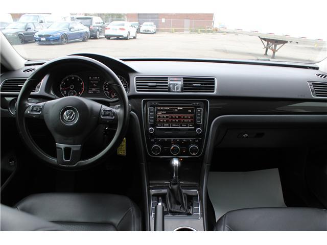 2014 Volkswagen Passat 1.8 TSI Comfortline (Stk: 19191) in Toronto - Image 11 of 19
