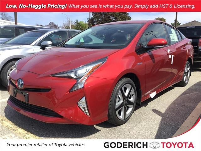 2018 Toyota Prius Touring (Stk: N12218) in Goderich - Image 1 of 2