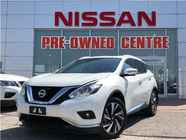 2017 Nissan Murano Platinum/NAVIGATION|LEATHER|BLIND SPOT (Stk: U2959) in Scarborough - Image 1 of 24