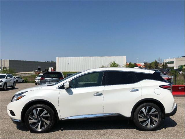 2017 Nissan Murano Platinum/NAVIGATION|LEATHER|BLIND SPOT (Stk: U2959) in Scarborough - Image 2 of 24