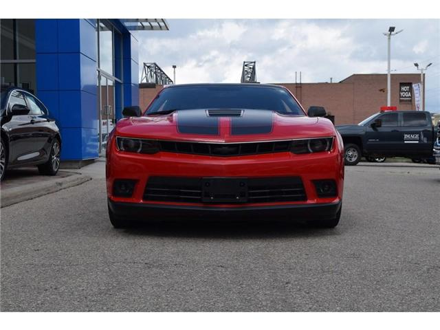 2015 Chevrolet Camaro SS 1SS/426hp/RS PACK/20s/PRFRMNC EXHST/6SPD (Stk: 127558B) in Milton - Image 2 of 19