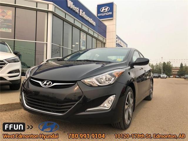 2016 Hyundai Elantra GLS (Stk: 84242A) in Edmonton - Image 1 of 20