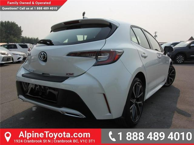2019 Toyota Corolla Hatchback Base (Stk: 3002496) in Cranbrook - Image 4 of 15