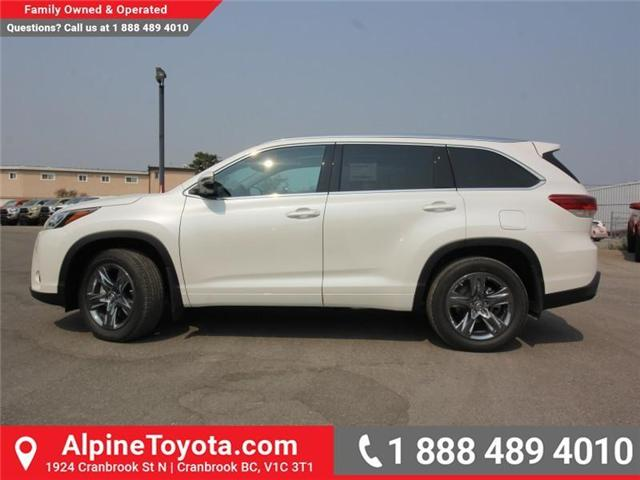 2018 Toyota Highlander Limited (Stk: S891572) in Cranbrook - Image 2 of 17