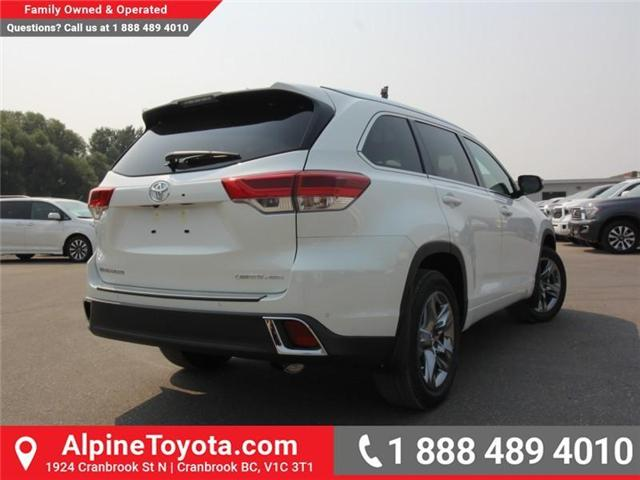 2018 Toyota Highlander Limited (Stk: S891572) in Cranbrook - Image 4 of 17