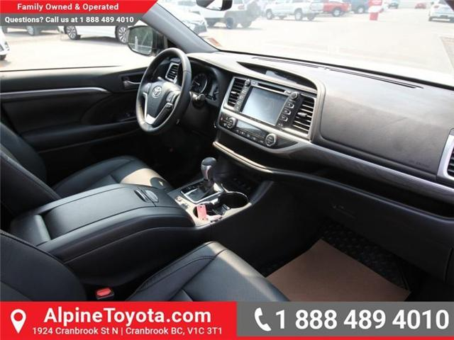 2018 Toyota Highlander Limited (Stk: S891572) in Cranbrook - Image 10 of 17