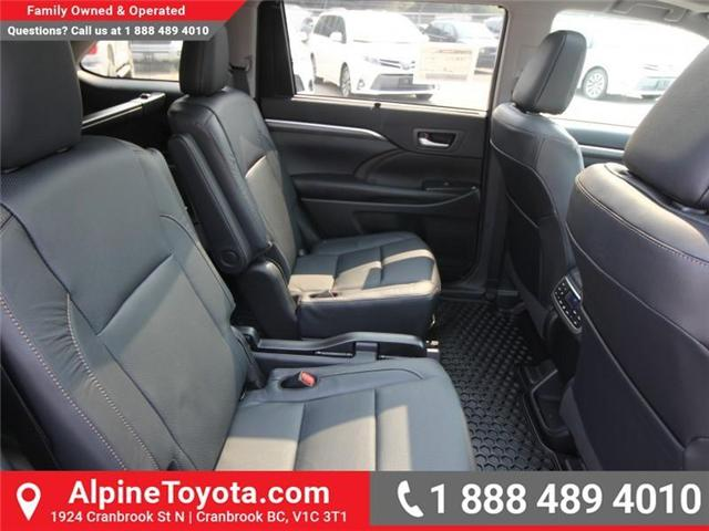 2018 Toyota Highlander Limited (Stk: S891572) in Cranbrook - Image 11 of 17
