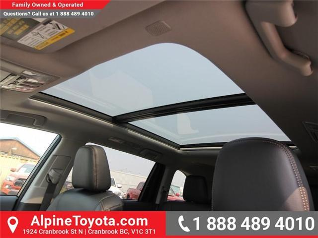 2018 Toyota Highlander Limited (Stk: S891572) in Cranbrook - Image 15 of 17