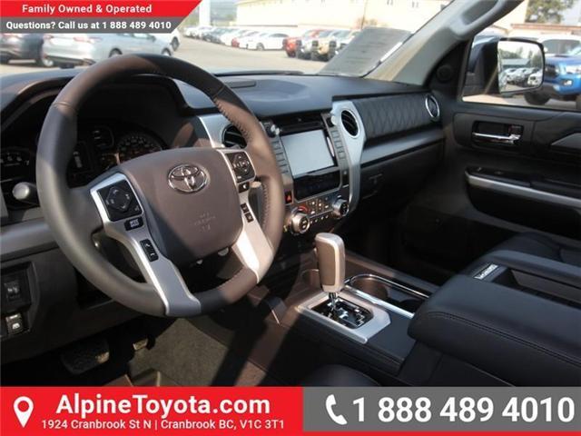 2018 Toyota Tundra Platinum 5.7L V8 (Stk: X768979) in Cranbrook - Image 8 of 17