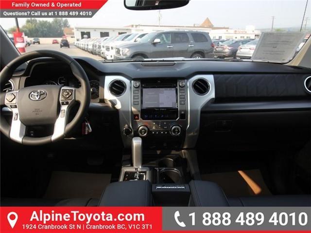2018 Toyota Tundra Platinum 5.7L V8 (Stk: X768979) in Cranbrook - Image 9 of 17