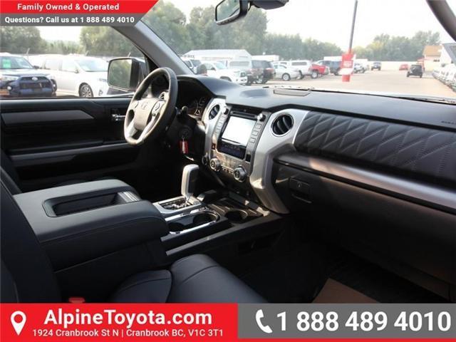 2018 Toyota Tundra Platinum 5.7L V8 (Stk: X768979) in Cranbrook - Image 10 of 17