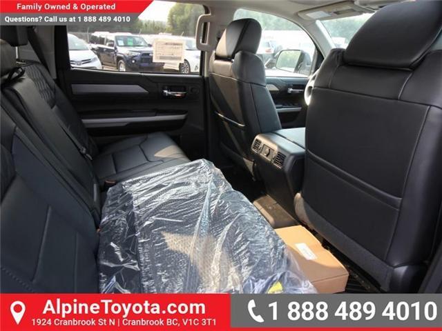 2018 Toyota Tundra Platinum 5.7L V8 (Stk: X768979) in Cranbrook - Image 11 of 17