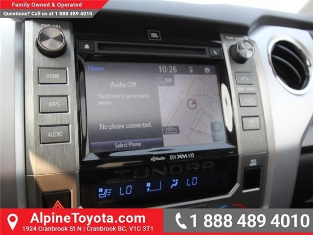 2018 Toyota Tundra Platinum 5.7L V8 (Stk: X768979) in Cranbrook - Image 12 of 17