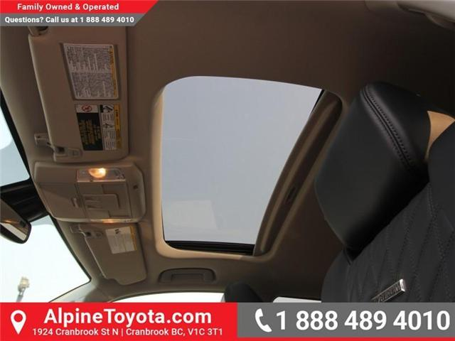 2018 Toyota Tundra Platinum 5.7L V8 (Stk: X768979) in Cranbrook - Image 15 of 17