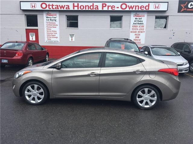 2013 Hyundai Elantra  (Stk: 27569-2) in Ottawa - Image 1 of 21