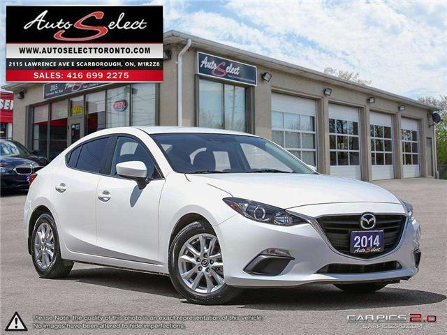 2014 Mazda Mazda3  (Stk: 14DMQ131) in Scarborough - Image 1 of 28