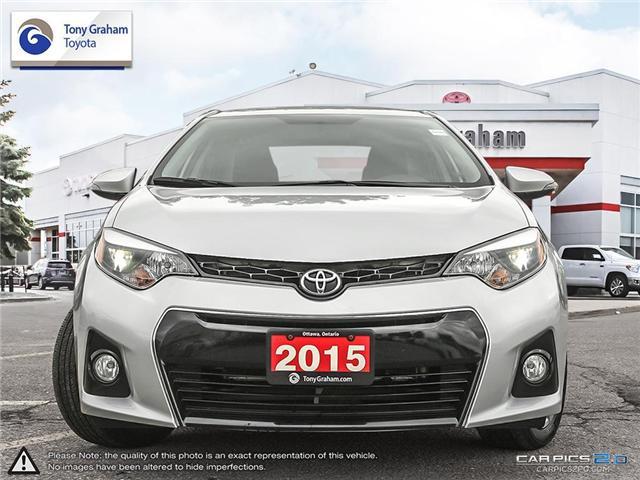 2015 Toyota Corolla S (Stk: E7608) in Ottawa - Image 2 of 27