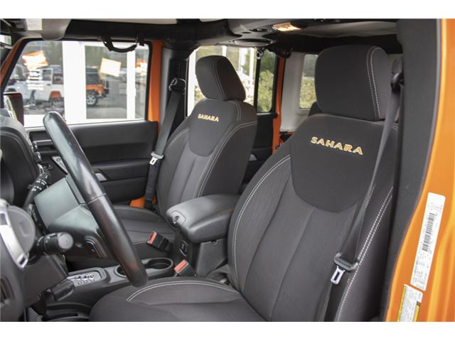 2013 Jeep Wrangler Unlimited Sahara (Stk: K207280A) in Abbotsford - Image 10 of 23