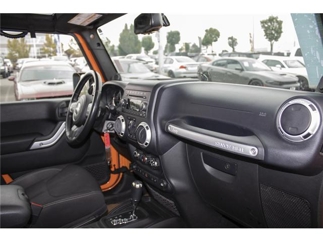 2013 Jeep Wrangler Unlimited Sahara (Stk: K207280A) in Abbotsford - Image 17 of 23