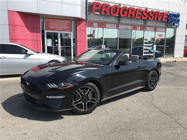 2018 Ford Mustang  (Stk: J5141809) in Sarnia - Image 1 of 15