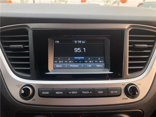 2018 Hyundai Accent L (Stk: H2327) in Saskatoon - Image 13 of 24