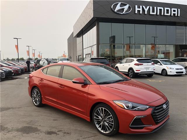 2018 Hyundai Elantra Sport Tech (Stk: H2356) in Saskatoon - Image 1 of 28