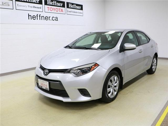 2015 Toyota Corolla LE 2T1BURHE2FC280696 185972 in Kitchener