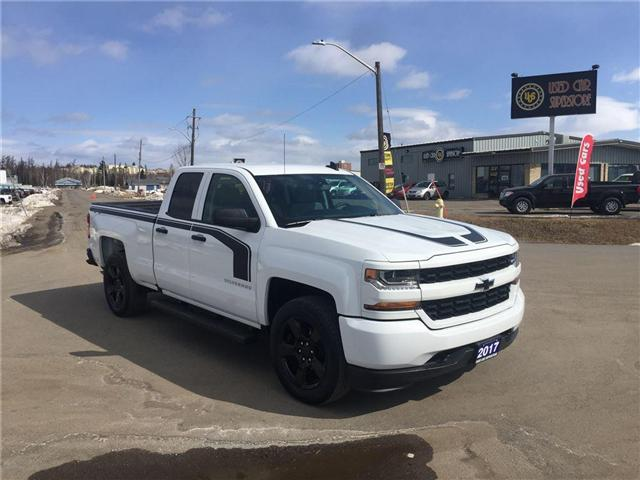 2017 Chevrolet Silverado 1500 Silverado Custom (Stk: 3478) in Thunder Bay - Image 1 of 12